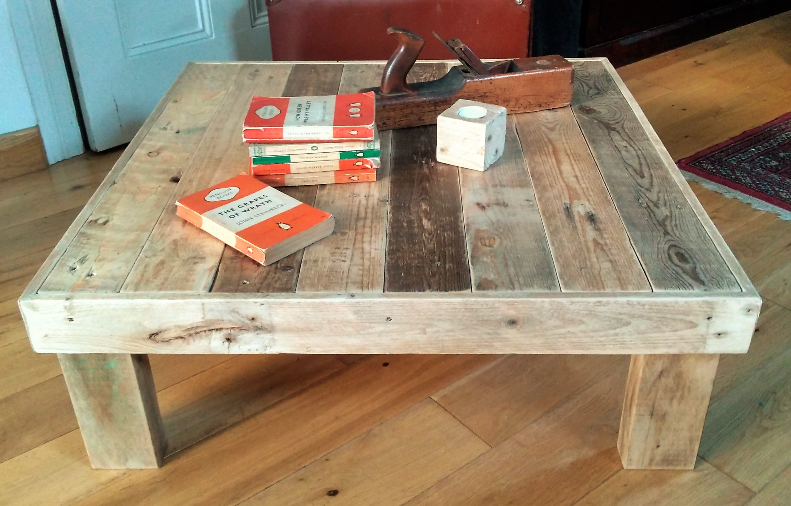 Pallet Wood Coffee Table | Estuary Home