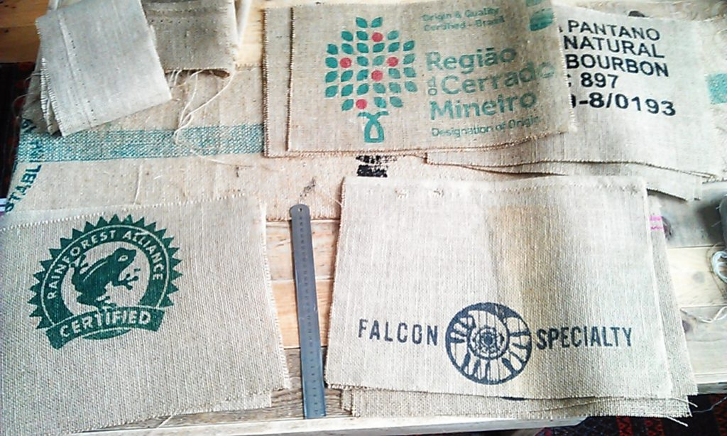 Recycled Hessian Placemats